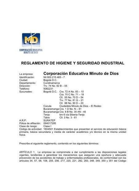 Empresas de higiene y seguridad industrial