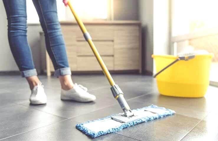 Limpiar suelo porcelanico mate